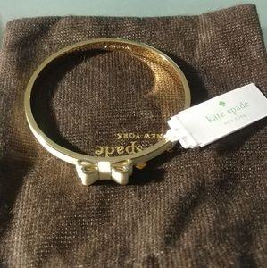 NWT kate spade bangle bow bracelet
